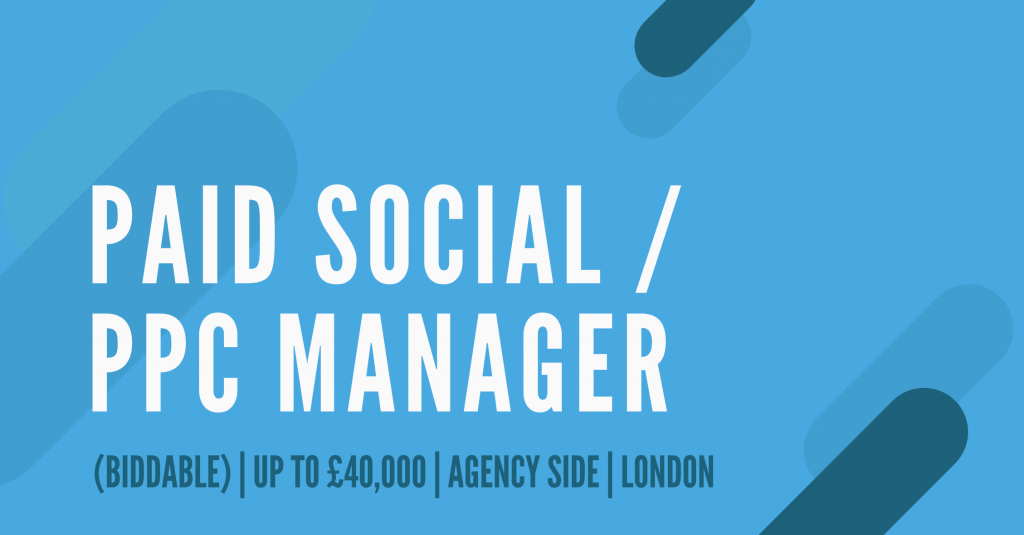 PPC Manager jobs london